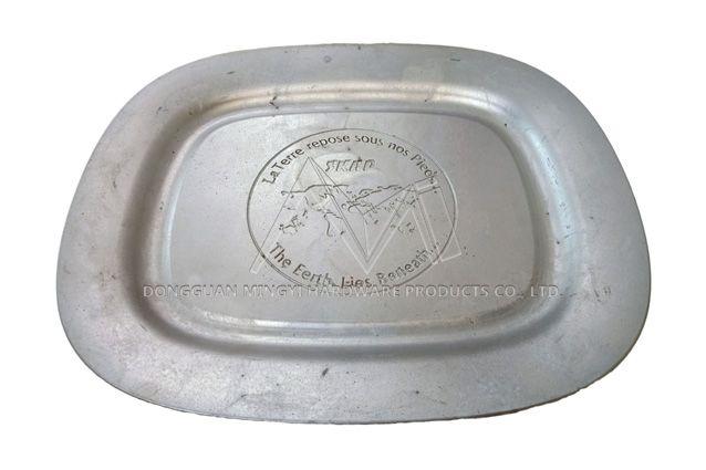 Aluminum sand casting tray
