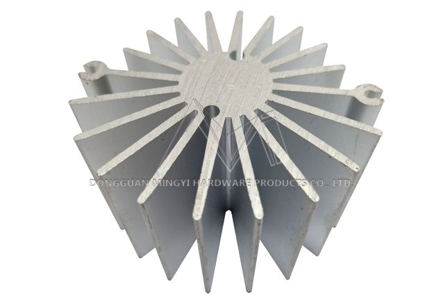 LED lamp body extrusion profile radiator
